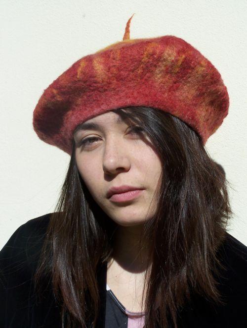 podzimní baret