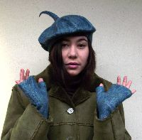 baret a rukavice